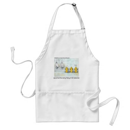 Pampered Dog Bathrooms Funny Gifts & Tees Aprons