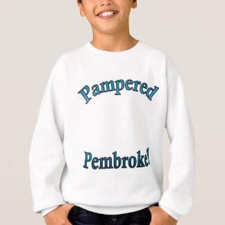 Pampered Pembroke - TealTemplate Sweatshirt
