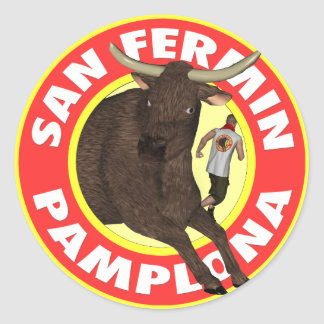 Pamplona Classic Round Sticker