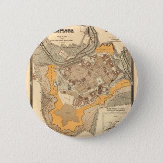 Pamplona Spain 1882 2 Inch Round Button