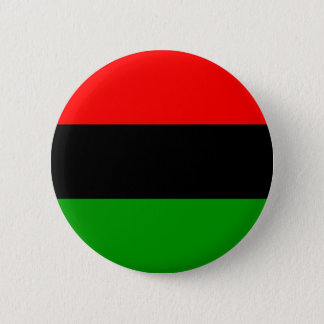 Pan-African Flag 2 Inch Round Button