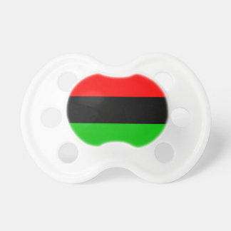 Pan-African Flag Baby Pacifier