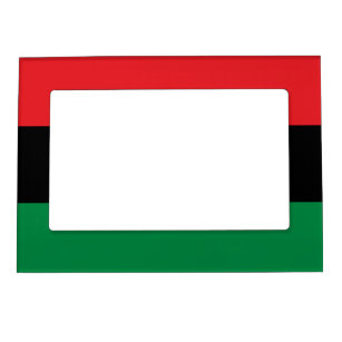 Pan African UNIA Flag Magnetic Frame