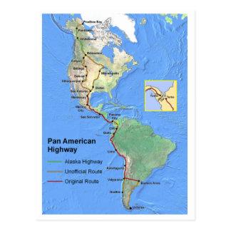 Pan American Highway Postcard