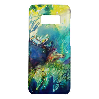 PAN AND DEER IN THE FOREST Detail Case-Mate Samsung Galaxy S8 Case