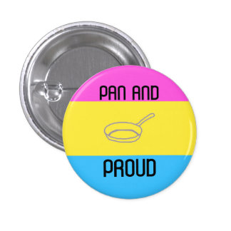 Pan and Proud 1 Inch Round Button