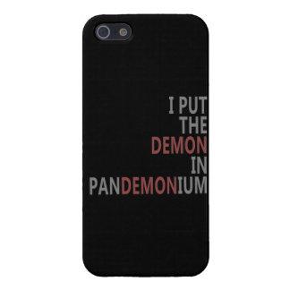 Pan-demon-ium iPhone 5 Covers
