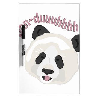 Pan-duuuhhhh Dry Erase Whiteboards