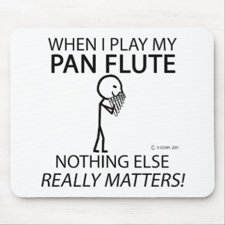 Pan Flute Nothing Else Matters Mousepad