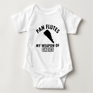 pan flutes choice baby bodysuit