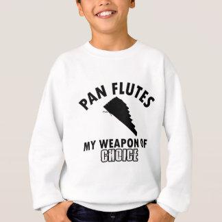 pan flutes choice sweatshirt