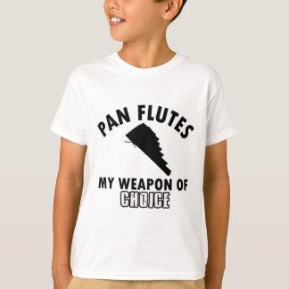 pan flutes choice T-Shirt