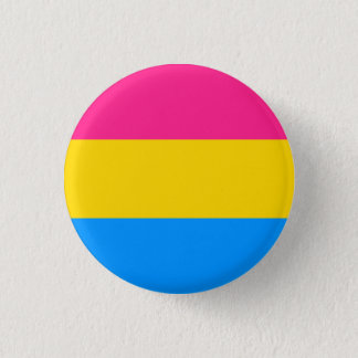 Pan Pride! 1 Inch Round Button