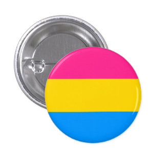 Pan Pride! 1 Inch Round Button