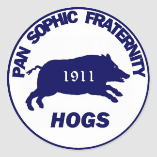 Pan Sophic Hogs Sticker