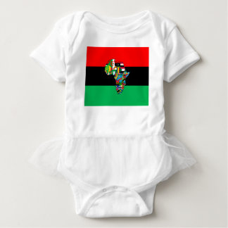 PanAfrican I Am More Than The Glass Ceiling Design Baby Bodysuit