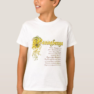 Panagbenga Festival in Elegant Flowery Design T-Shirt
