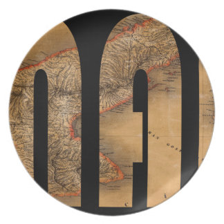 panama1864 plate