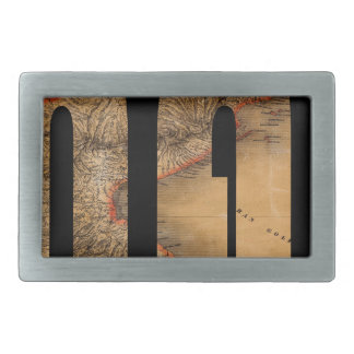 panama1864 rectangular belt buckle