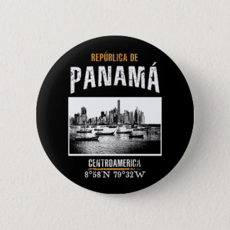Panama 2 Inch Round Button