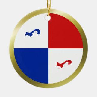 Panama Banner Ornament
