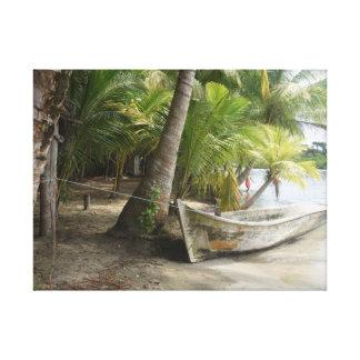 "Panama Beach Color Print ""La Playa Natural"" Yotigo"