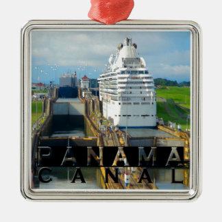 Panama Canal Souvenir Metal Ornament