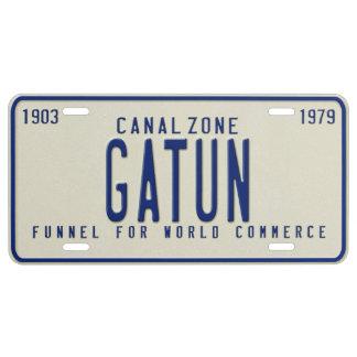 Panama Canal Zone Plates 70: Gatun