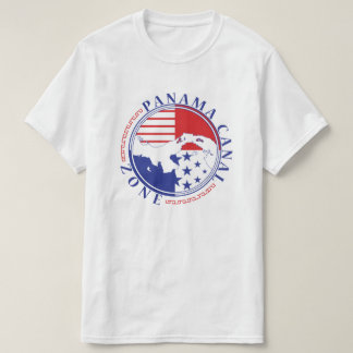 Panama Canal Zone with Isthmus T-Shirt