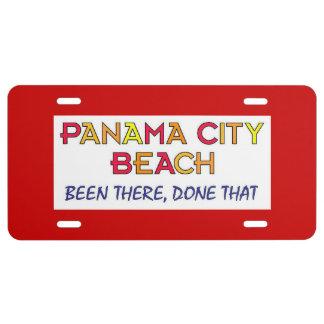 Panama City Beach Florida BTDT License Plate