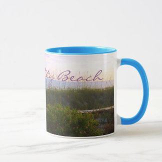 PANAMA CITY BEACH, FLORIDA mug baby blue