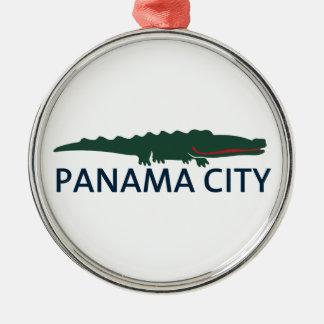 Panama City Beach. Metal Ornament
