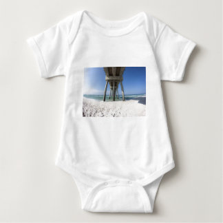Panama City Beach Pier Baby Bodysuit