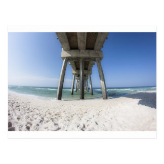 Panama City Beach Pier Postcard