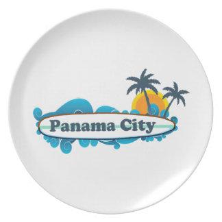 Panama City Beach. Plate