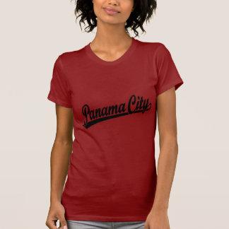 Panama City in black T-Shirt