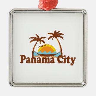 Panama City. Metal Ornament