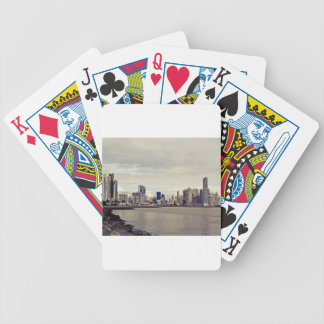 Panama City Skyline Bicycle Playing Cards