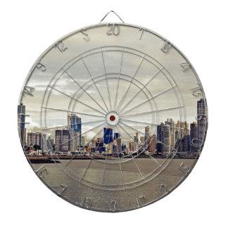 Panama City Skyline Dartboard