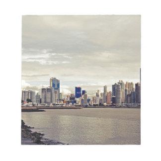 Panama City Skyline Notepad
