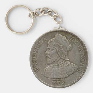 Panama Coin Keychain
