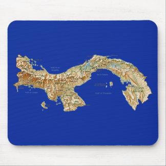 Panama Map Mousepad