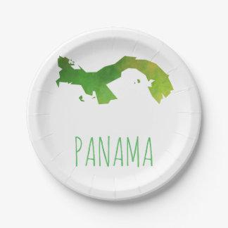 Panama Paper Plate