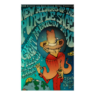Panama Red Spaces Out Poster