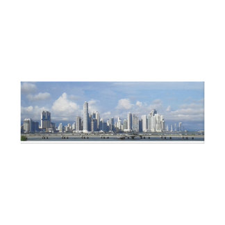 Panama Stretched Canvas Print