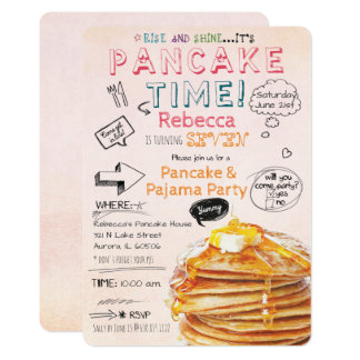 Breakfast birthday party invitations idealstalist breakfast birthday party invitations filmwisefo