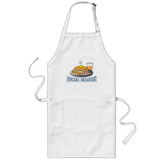Pancake Bacon Juice Fundraiser Long Apron