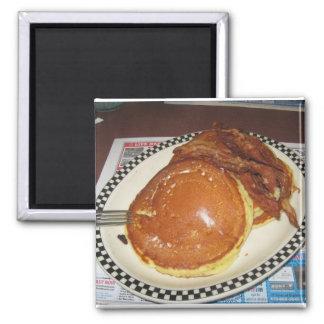 Pancake breakfast magnet