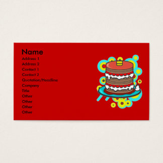 Pancake Business Card