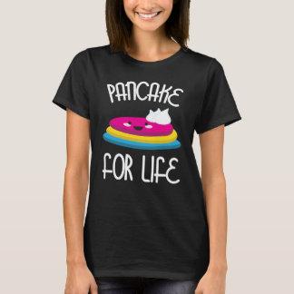 Pancake For Life Pansexual LGBT Pride T-Shirt